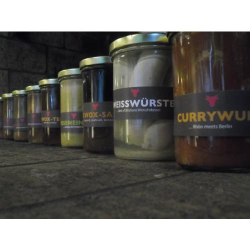 Roulade – RWOX um Gemüse gerollt (400gr Glas)