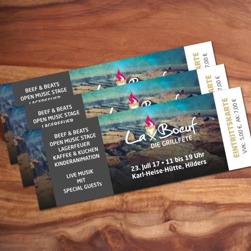 Eintrittskarte LaBoeuf