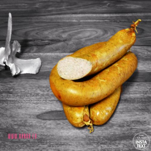 Hausmacher Leberwurst im Ring (1 Stück ca. 500 gr)